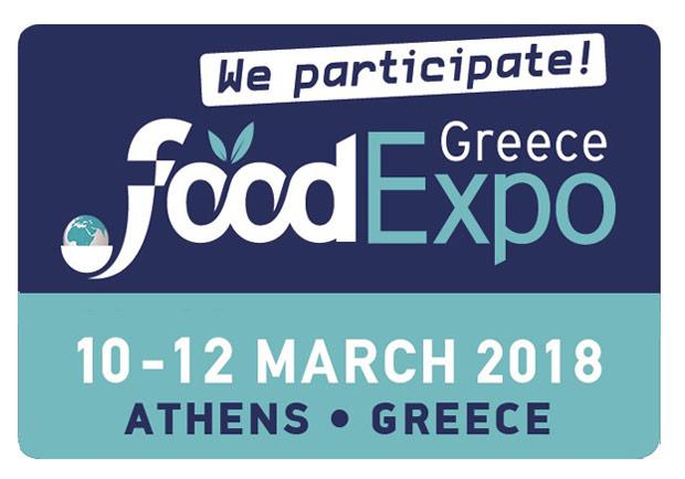 Συμμετοχή στη διεθνή έκθεση τροφίμων και ποτών Food Expo 2018
